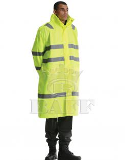 Long Reflective Raincoat / 5006